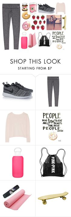 """""""People who love to eat are always the best people"""" by splash-of-collor ❤ liked on Polyvore featuring NIKE, Banjo & Matilda, bkr, Seletti, women's clothing, women, female, woman, misses and juniors"""