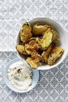 Bill Granger recipe: Sesame-and-mint-fried courgette - Recipes - Food + Drink - The Independent Bite Size Food, Ham And Bean Soup, Cooking Recipes, Healthy Recipes, Healthy Food, Recipes Appetizers And Snacks, Bill Granger, Us Foods, Quick Meals