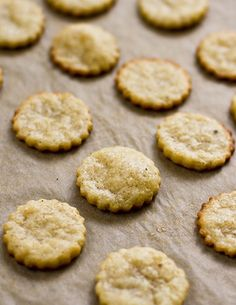 """CANAL HOUSE'S PARMESAN CRACKER ~~~ this recipe is shared from, """"canal house cooking volume no. 6: the grocery store"""" [Canal House] [Melissa Hamilton and Christopher Hirsheimer] [yummysupper] [parmigiano-reggiano, parmesan]"""