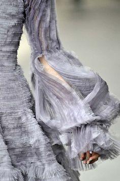 Detail of Alexander McQueen Autumn/Winter 2011