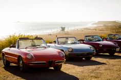 Fortunately, we don't have to put up with such nonsense.  There are many great 20-plus year-old roadsters out there that  deliver that classic open air motoring experience before convertibles were castrated.  Of course, the Alfa Romeo Spiders are my personal favorites.