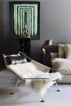 scandinaviancollectors: Hans J. Wegner´s Flag Haylard chair, designed in1950, Denmark