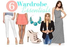The Heathered Life: 6 Wardrobe Essentials For Spring
