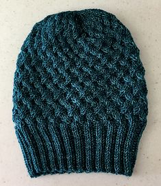 Apple Pie by tincanknits, knitted by sidhex3   malabrigo Rios in Teal Feather