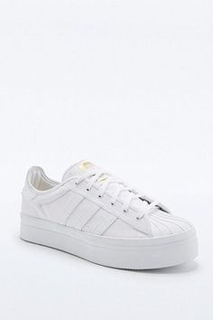adidas Originals Superstar Rize White Trainers - Urban Outfitters
