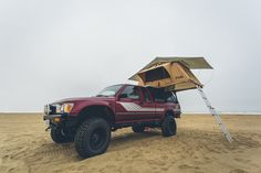 Pickup with Cascadia Vehicle Tent