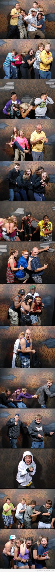 OMG HILARIOUS. Whoever decided to put a camera put in a haunted house is a genius! BAHAHAHAH