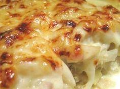 Receita Prato Principal : Bacalhau com natas à portuguesa de Forasteira