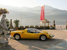Ferrari 206 S Dino Berlinetta Competizione at Lake Como