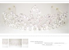 FREE SHIPPING Wholesale Gorgeous High Quality Cover Design Rhinestone Bridal Wedding Crown Tiara-in Hair Jewelry from Jewelry on Aliexpress.com