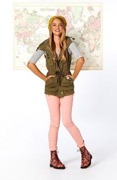 Back to School Trend Watch: Vests! @Gayla Logsdon Clothing @D R. Martens