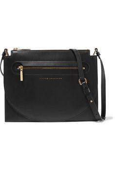 Victoria Beckham - Moon Light Leather Shoulder Bag - Black