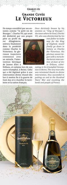Champagne Charles VII, Cuvée Le Victorieux, Canard-Duchêne, Identité et Packaging 2010©markcom