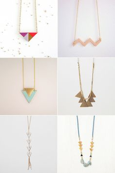 Geometric jewelry. Should it be a thing?