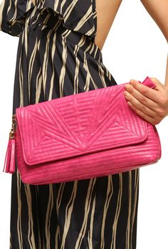 pink quilted