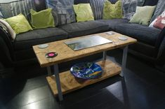 Industrial Style, Industrial Design, Scaffold Boards, Reclaimed Timber, Furniture Making, Pallet, Furniture Design, Indoor, Colours