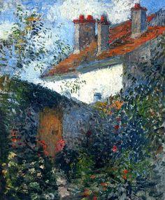 Study at Pontoise Camille Pissarro - circa 1878