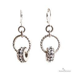 Sabrina Earrings By Becky Nunn!  Crystal clay