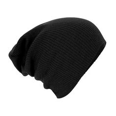 Beechfield Unisex Slouch Winter Beanie Hat ($2.79) ❤ liked on Polyvore featuring accessories, hats, beanies, hair, sport beanie hats, slouch beanie, beanie cap hat, slouchy beanie and slouchy beanie hat