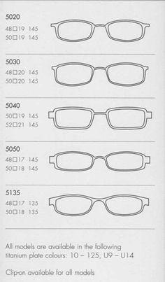Lindberg Strip - shapes/sizes Designer Frames, Optometry, Cheap Sunglasses, Glasses Frames, Drawing Tips, Fashion Watches, Eyeglasses, Eyewear, Knowledge