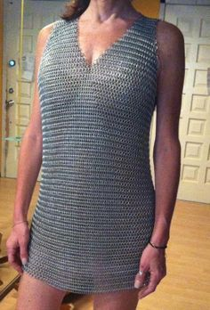 100 Authentic Chainmaille Costume Sheath Tunic by FlawlessYou, $350.00