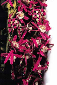 Oya, traditional ottoman silk crochet work