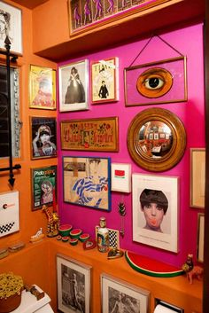 Home Decoration Living Room Quirky Home Decor, Eclectic Decor, Diy Home Decor, Peggy Moffitt, Deco Paris, Bathroom Colors, Quirky Bathroom, Boho Bathroom, Small Bathrooms