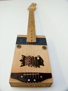Undercrown Cigar Box Guitar Acoustic Electric Handmade