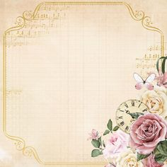"""KaiserCraft - Mademoiselle Collection - 12""""x12"""" Foiled Cardstock - Timeless"""