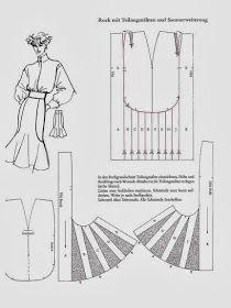 Skirt Patterns Sewing, Clothing Patterns, Pattern Cutting, Pattern Making, Patron Vintage, Modelista, Couture Sewing, Pattern Drafting, Fashion Sewing