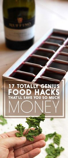 17 Genius Food Hacks That'll Save You So Much Money money saving hacks, saving money hacks