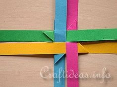 Free Craft Instructions - How to Make a German Paper Star (Froebel Star) Page 3