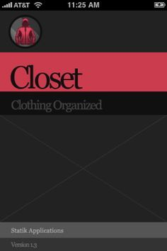 iPhone app for organizing your wardrobe and having it choose your outfits for you.