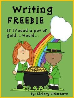 FREE: If I found a Pot of Gold, I Would...(writing prompt) FREEBIE--I would love for you to leave me some feedback! Thanks!Here's a cute FREEBIE to help get your students motivated to write. Wouldn't it be nice if we could ALL find that POT OF GOLD?This writing resource is great for a writing center or a whole class writing lesson.**********Please follow me by clicking on the green star by my picture above to be notified of new products and freebies!**********You may also like:Ten Frames1.