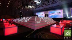 In The Event custom decor and design stage