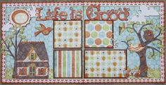 "Life is Good 12""x12"" Double Layout"