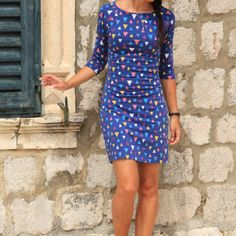 Short Sleeve Dresses, Dresses With Sleeves, Sewing, Fashion, Moda, Dressmaking, Sleeve Dresses, Couture, Fashion Styles