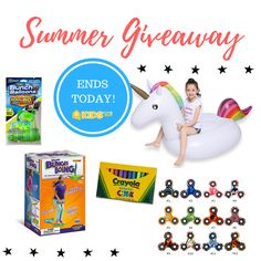 Parenting 100 days of giveaways