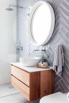 Most Popular Modern White Bathroom Mirror 16 Ideas Bathroom Furniture, Bathroom Interior Design, Simple Bathroom Designs, Trendy Bathroom, Bathroom Mirror, Spa Like Bathroom, Scandinavian Bathroom, Bathroom Vanity Reno, Bathroom Decor