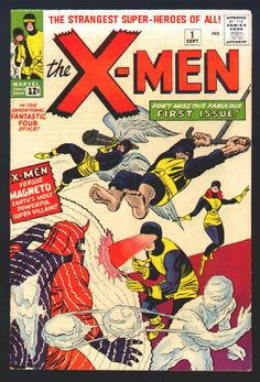 girl looks confused while the boys are getting shit done, hair pokes out of mask, but otherwise fairly non-gendered depiction // original X-Men