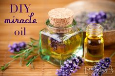 DIY Miracle Oil - An All Natural Remedy for Eczema, Dry Skin, Poison Ivy, Insect Bites, Scrapes and more!