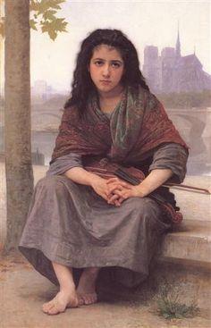 The Bohemian - William-Adolphe Bouguereau
