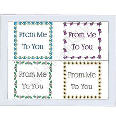 Cards & Gift Tags Blank Notecards with by PixelDustPrintables1