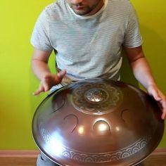 Original GUDA Drum Hybrid for Thomas Design: Lotos Scale: Arcane (G) #gudadrum #handpan #gubarevdrum