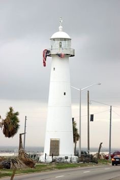 the Biloxi lighthouse... still standing strong, post Katrina