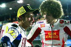 Ayah Simoncelli Ceritakan Awal Persahabatan Putranya dengan Rossi
