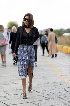 The Street Style at Milan Fashion Week May Be the Best Yet Day 1 Christine Centenera