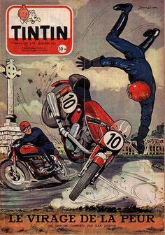 Revista Tintin 1954 - Motos