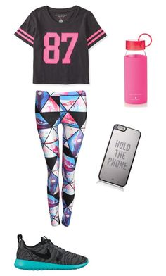 """Hold the phone while I work out"" by alexaw-2 on Polyvore"