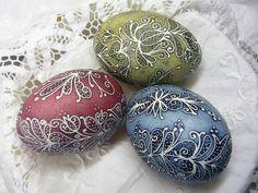 Mézeskalács, hímes tojás (Noé Kornélia munkái)